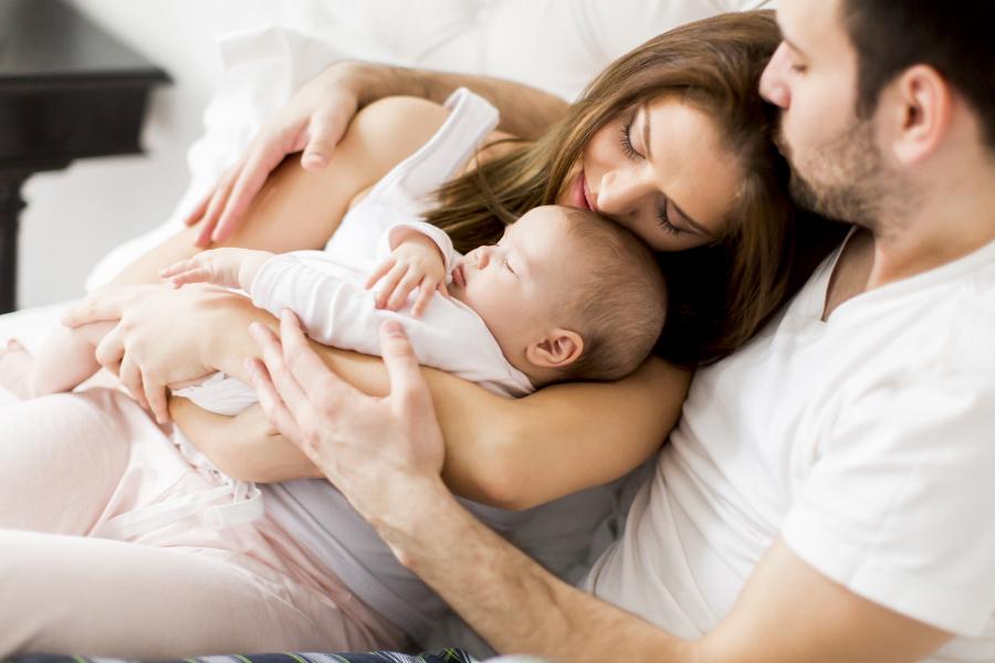 Čak i kada je mama bolesna bez straha može dojti svoju bebu.