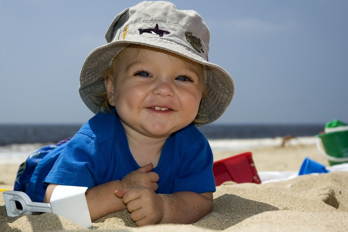 kako odijevati bebu ljeti
