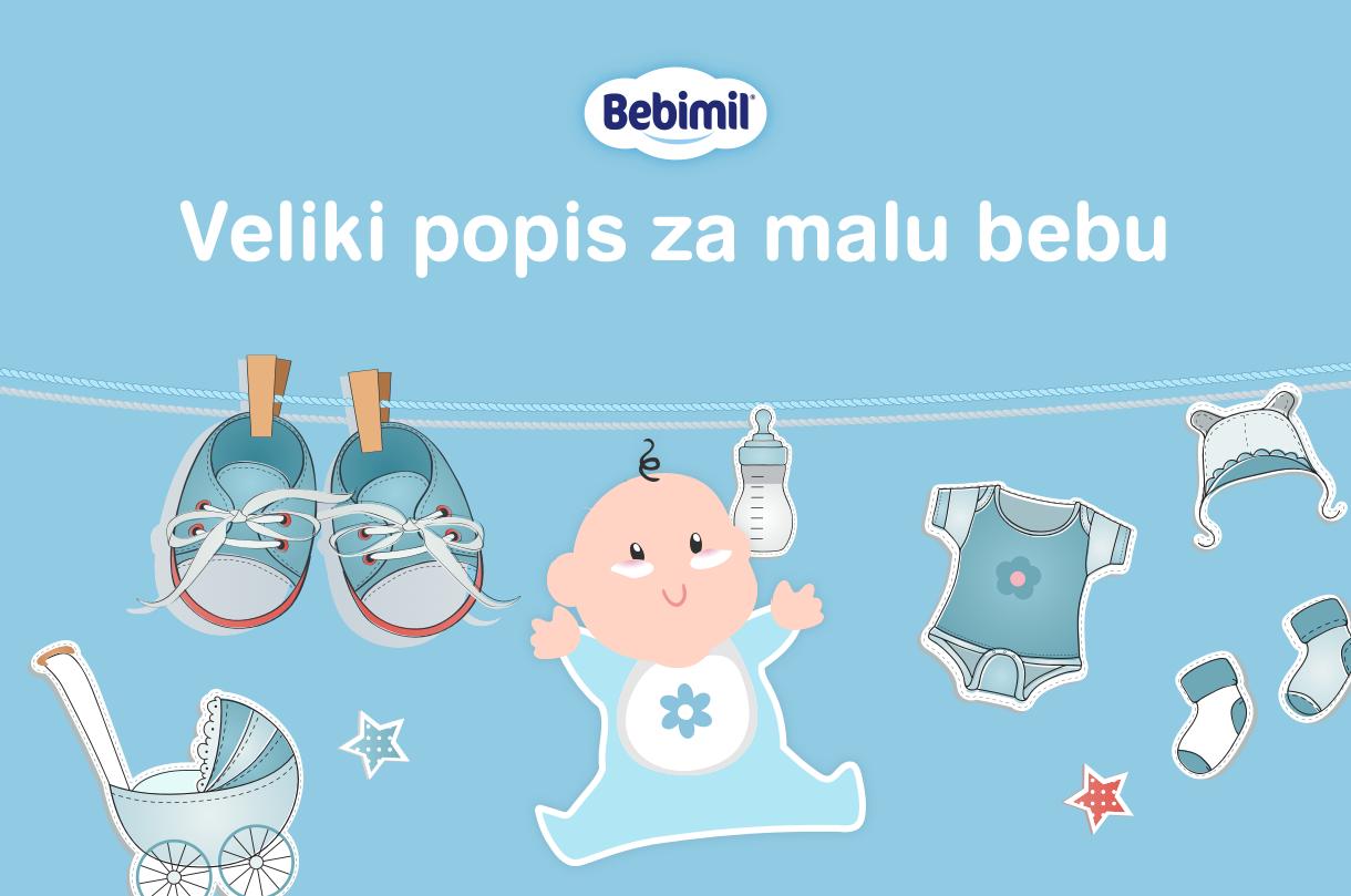 Popis opreme za malu bebu