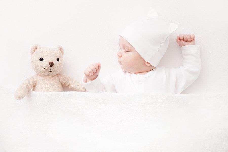 Bebe puno spavaju, pogotovo u početku. Čak 17 sati na dan.