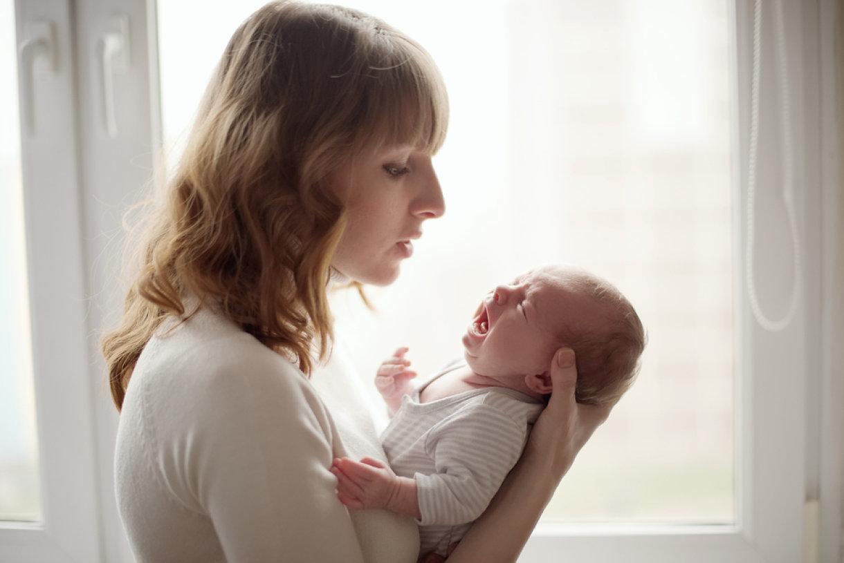 Što su to dojenačke kolike i što ih uzrokuje?