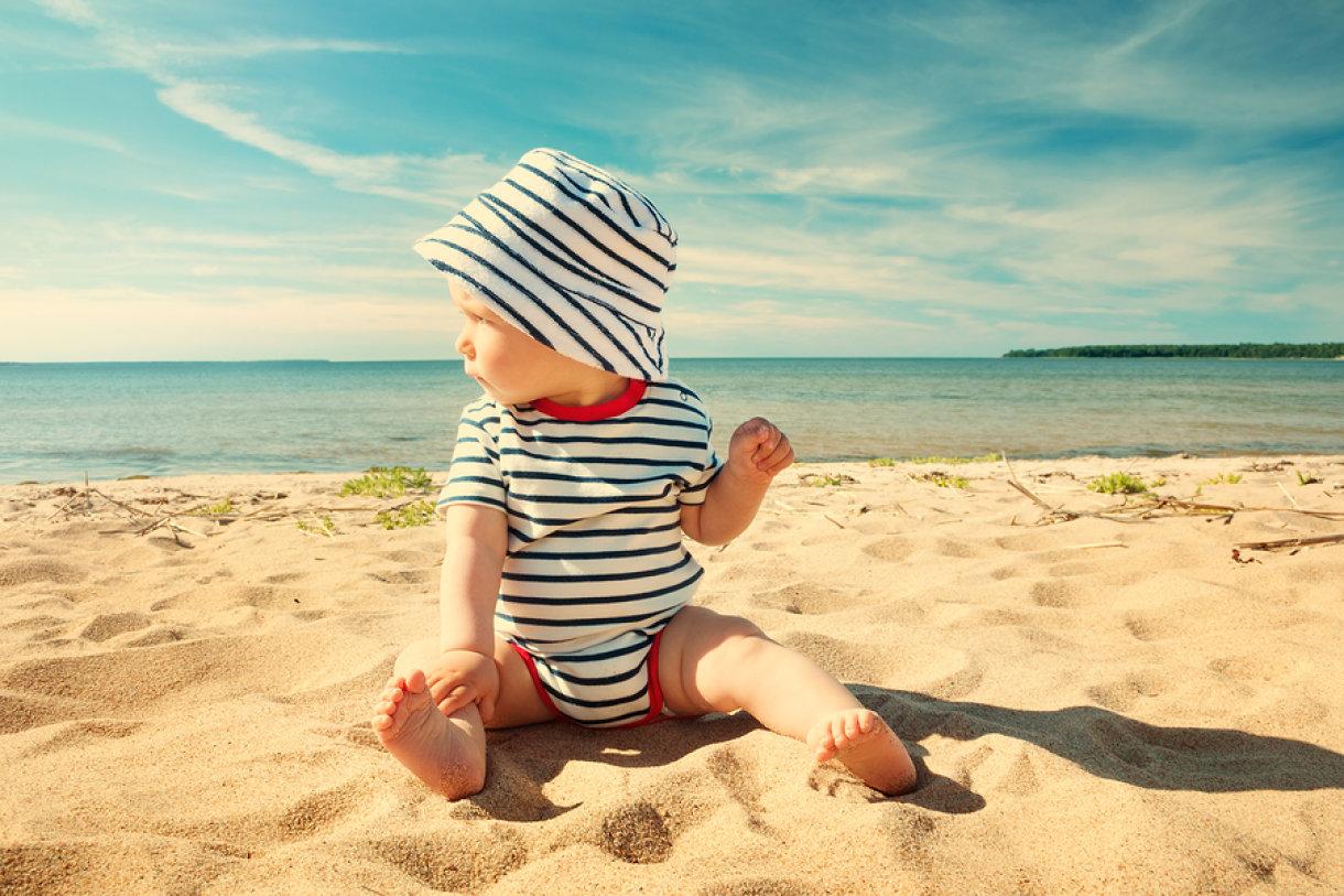 Koža beba jako je tanka i treba je pažljivo štititi od sunca.