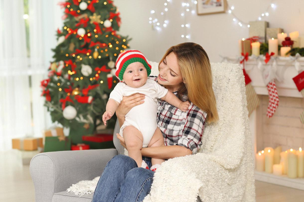 Bebu će tijekom prvog Božića najviše zanimati žaruljice